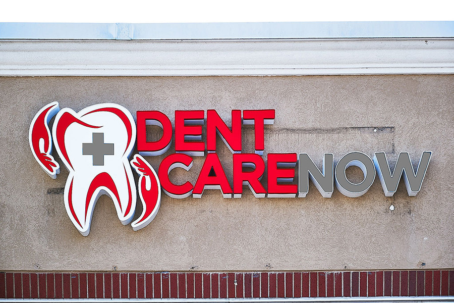 Dentcare Now Sign