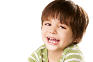 Smiling Boy with Sealants